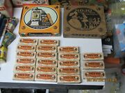 Mo-jo Vintage Chewing Gum Full Box Of 20 Packs 1910-20 Chicle Products W/poster