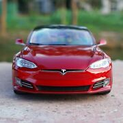 118 Tesla Model S P100d Alloy Diecast Toy Model Car Collection Gift Ornament