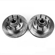 Ar8572xpr Powerstop 2-wheel Set Brake Discs Front New Rwd Abs For F250 Truck