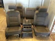 2014-2018 Chevrolet Silverado 1500 Front And Rear Seat Set Oem 2017