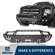 Hooke Road Aggressive Full Width Front Bumper Bar Assembly For Ford 09-14 F-150