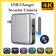 Security Camera Hidden Mini Cam Usb Charger 4k Wireless Wifi Ip Night Vision