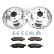 Brake Disc And Pad Kit New For Chevy Olds S10 Pickup Chevrolet S-10 Blazer Gmc