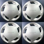1990-1995 Nissan Axxess 53028 14 Wheel Covers Hubcaps Oem 4031532r00 Set/4