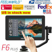 Feelworld F6 Plus 5.5inch 3d Lut Screen Field Monitor + Battery And Charger D2k0