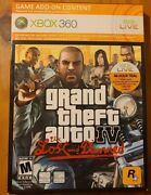 Grand Theft Auto Iv The Lost And Damned - Xbox 360 New Sealed