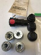 Mcgard Wheel Hubcap Lock Key Wrench Ford Mopar Lincoln Gm Red