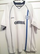 Tranmere Rovers 2002-2004 Home Football Shirt Size Large /7796