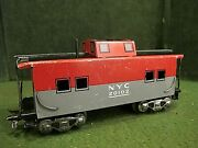 Marx 20102 Nyc New York Central Pacemaker Caboose Andndash Tin Litho Andndash O Scale Usa