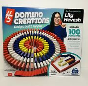 Spin Master H5 Domino Creations 100-piece Set By Lily Hevesh Family Game
