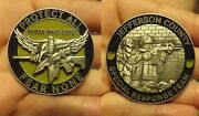 Jefferson County Ohio Special Response Team Challenge Coin Those Who Dare Srt