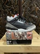 1994 Nike Air Jordan 3 Black Cement Wearable Size 9.5 Vintage Collectable