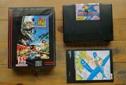 Like New - Ghost Pilots - Neo Geo Aes Game Neogeo - Complete Usa Dog Tag Version