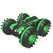 Free To Fly Remote Control Car Boat Truck 4wd 6ch 2.4ghz Land Water 2 In 1 Rc