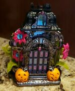 Bath And Body Works Wallflower Plug Halloween Haunted House Projector Witch Bats
