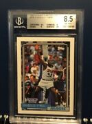 1993 Kenner Starting Lineup Shaquille Oandrsquoneal 47sl 20b Bgs 8.5 Very Scarce