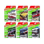 Classic Gold 2019 Set B Of 6 Cars Release 1 1/64 Diecast Models By Johnny Lig...
