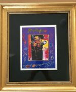 Peter Max Roseville Profile Collage - Signed