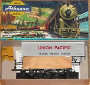 Athearn 5492 Tractor With 40 Ft Trailer Kit Union Pacific