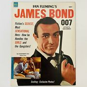 Sean Connery Ian Flemings James Bond 007 Magazine Dell 1964 Goldfinger Pictorial
