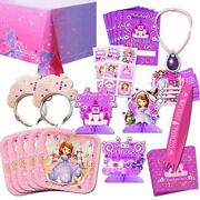 Disney Sofia The First Party Supplies Value Set-- Birthday Party Plates Cups...
