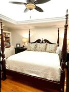 Sumter Cabinet Co Bedroom Furniture Set Queens Size Armoire Chest
