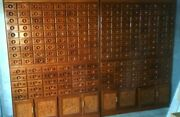 Taiwanese Chinese Apothecary Medicine Cabinet 4 Pieces Huge