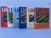 Lionel Collectors Guide And History. Mccomas And Tuohy 6 Volume Set Hard Cover