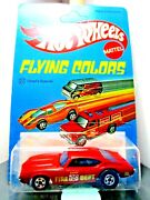 Hotwheels...vintage 1975 Carded Flying Colors...chiefs Special..unpunched