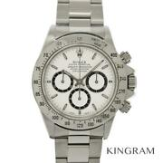 Rolex Daytona 16520 S Number Reverse 6 White Dial Overhauled Watch From Japan