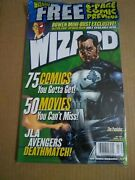 Wizard The Comics Magazine 118 July 2001 Cover 1 New/bagged Bowen Checklist