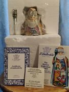 Rare G. Debrekht Limited Edition Night Before Christmas The Derevo Collection