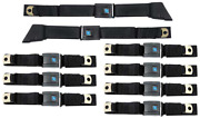 Oer 9 Piece Seatbelt Set 1967-1972 Chevy And Gmc Suburban And Panel Models