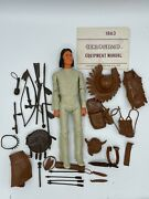 Marx Johnny West Geronimo Action Figure Vtg Fort Apache Fighters Indian W/box