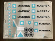 Completely Unused Official Lego Maersk Train Sticker Set 10219
