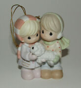 Precious Moments Ornament Our First Christmas Together 2000 New In Box Enesco
