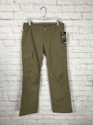 New Under Armour Storm Womens Tactical Patrol Tan Cargo Pants Size 10