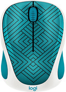 Logitech M317 - Design Collection Wireless Optical Mouse With Nano Receiver - Te