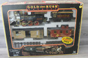 New Bright Gold Rush Express G-scale Train Set