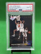 Psa 10 1992-93 Shaquille Oandrsquoneal Upper Deck 1b Rare Perfect Shaq Rc Trade Card
