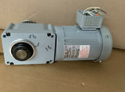 Brother F2s30n010-bml4a 3 Phase Induction Motor 1/2 Hp 101 Ratio 208/230/460v