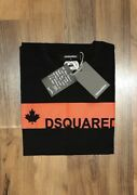 Dsquared2 Short Sleeve Menand039s Crew Neck Tee M/l/xl Andpound19.99