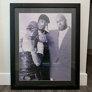 Original Vintage Death Row Records Poster 2pac Snoop Dogg Suge Knight 37x29.5 In