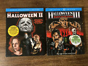 Halloween 1-3, 2and3 Scream Factory Blu-rays With Oop Out Of Print Slipcovers