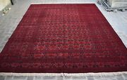 9and03910 X 12and0394 High Quality Hand Knotted Afghan Large Kunduzi Rug Very Rare Rug