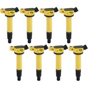 140630-8 Accel Set Of 8 Ignition Coils New For Toyota Tundra Land Cruiser Ls460