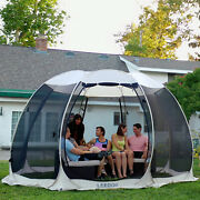 Pop Up Screen House Room Outdoor Camping Tent Canopy Gazebo 15 Person For Patio