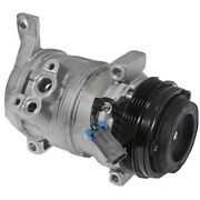 6511414 Gpd A/c Ac Compressor New For Chevy Avalanche Express Van With Clutch
