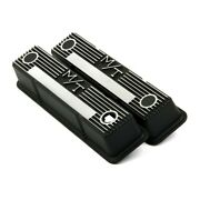 241-83 Holley Valve Covers Set Of 2 New For Chevy Le Sabre Suburban Camaro Pair