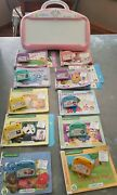 Pink - Leap Frog Little Touch Leappad And 10 Books W/ Cartridges - Huge Lot